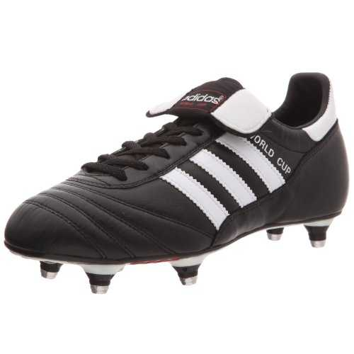 Adidas - World Cup - Chaussures de football - Mixte Adulte - Noir (Black/Running White Footwear) - 41 1/3 EU