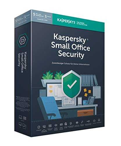 Kaspersky Small Office Security (5 User). Für Windows 7/8/10