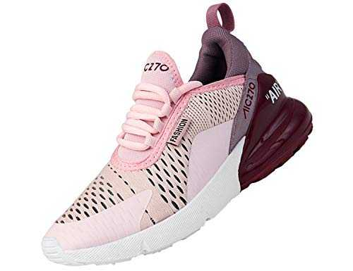 SINOES Femme Homme Baskets Chaussures de Sports Course Sneakers Respirante Fitness Gym Multisports Outdoor Running Blanc 41 EU