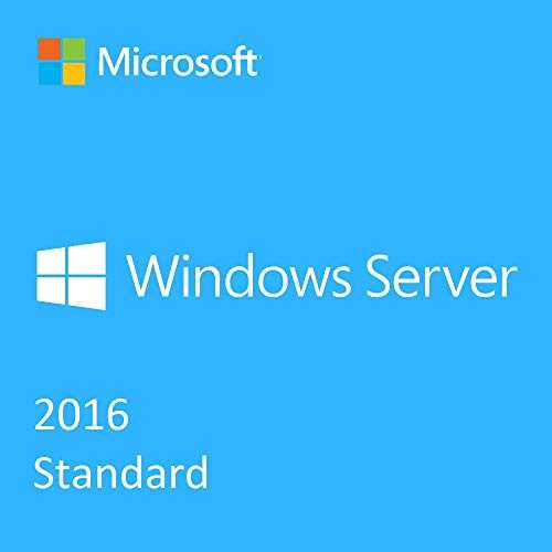 Windows Server 2016 Standard 16 Core + RDS 50 User CALs (pack)