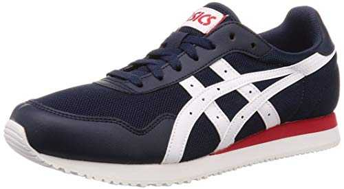 ASICS Tiger Runner, Chaussures de Running Homme, Multicolore (Midnight/White 400), 43.5 EU
