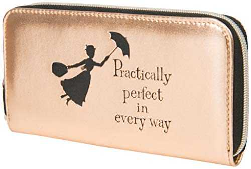 Disney Mary Poppins Sac a Main Rose Petit Sac Portefeuille Femme Pochette Tissu