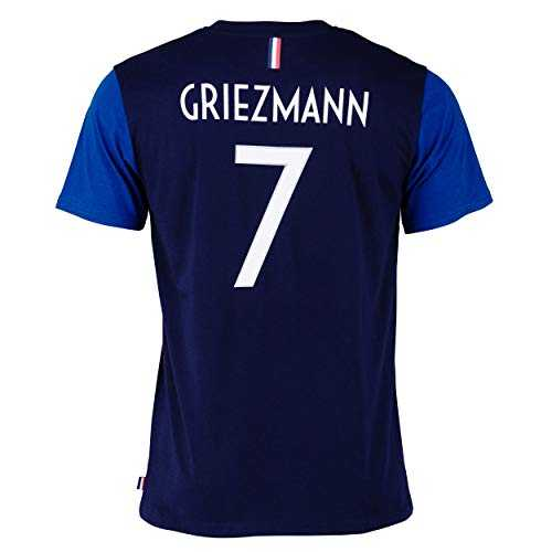 Equipe de FRANCE de football T-shirt FFF - Antoine GRIEZMANN - Collection officielle Taille adulte homme S