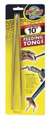 Zoo Med 10´´ Feeding Tongs Pince à Nourriture pour Reptile