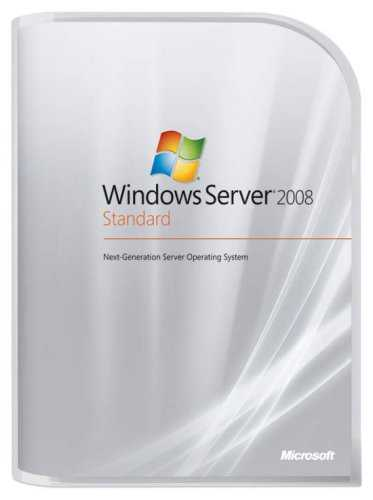 Microsoft Windows Server Standard 2008 32-bit/x64 DVD 5 Clt [import anglais]