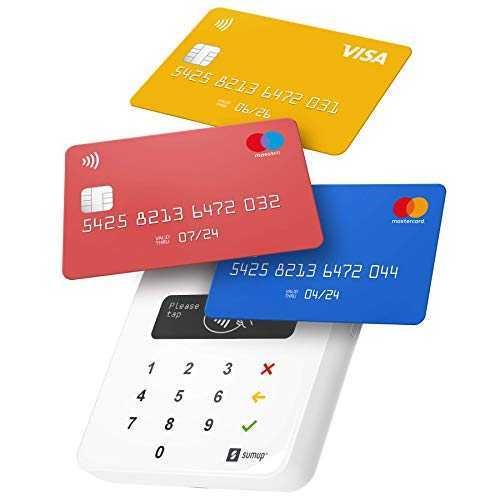 Sum Up Air - Lettore Carte Visa, V PAY, Mastercard, Maestro o American Express. Contactless (NFC)