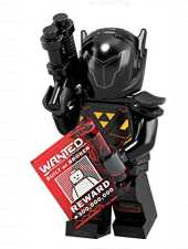 LEGO Minifigures Series 19 Galactic Bounty Hunter Blacktron Minifigure 71025 (Bagged)