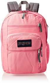 "JANSPORT Big Student Sac à dos pour ordinateur portable 15"" Rose fraise"
