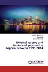 External reserve and balance of payment in Nigeria between 1995-2014