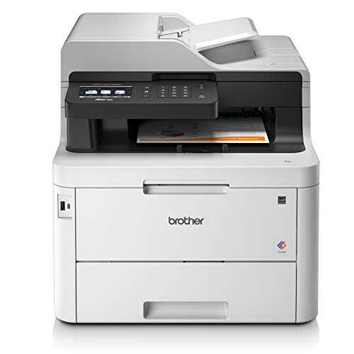 Brother MFC-L3770CDW Imprimante Multifonctions 4 en 1 Laser | Couleur | Silencieuse 47db | NFC | Recto-Verso | Wi-Fi