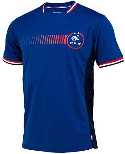 Equipe de FRANCE de football Maillot FFF - Collection Officielle Taille Adulte Homme S
