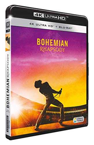 Bohemian Rhapsody [4K Ultra HD + Blu-Ray]