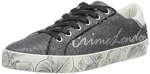 Crime London 25000pp1, Sneakers Basses Femme, Noir (Black 20), 38 EU