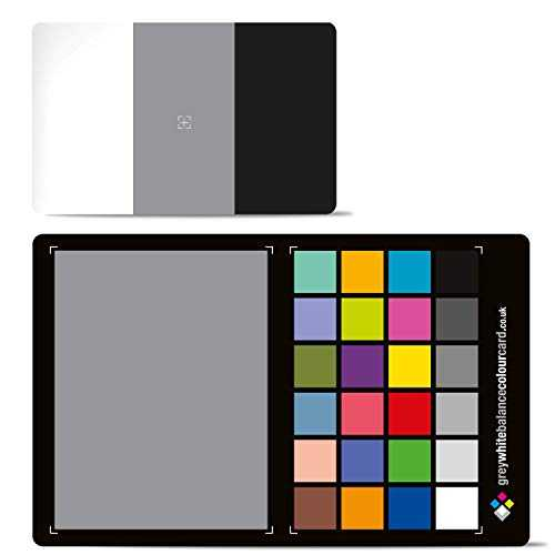 New for 2019. The 3 in 1 Grey White Balance Colour Mid-Size Card