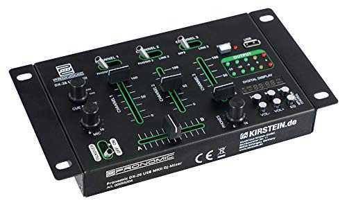 Pronomic DX-26 USB MKII DJ table de mixage