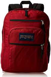 "JANSPORT Big Student Sac à dos pour ordinateur portable 15"" Taille unique Viking rouge."