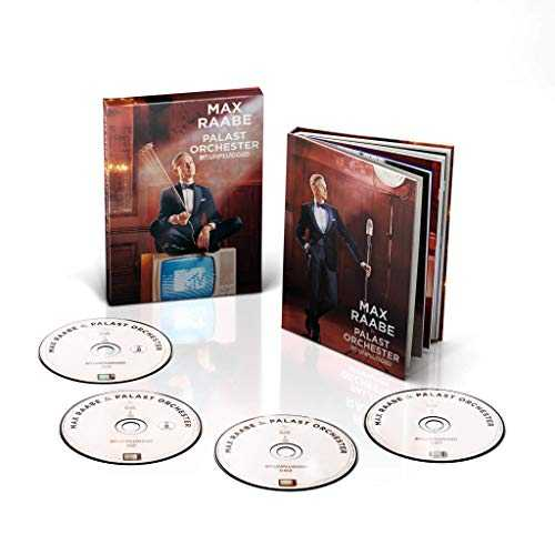 Max Raabe - MTV Unplugged (2CD   DVD   Blu-ray Deluxe Version)