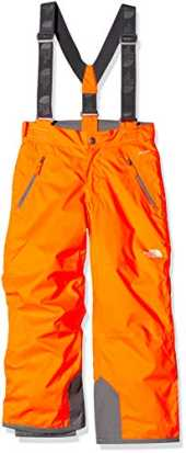 The North Face Youth Snowquest Pantalons Mixte Enfant, Power Orange, FR : S (Taille Fabricant : S)