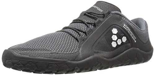 vivobarefoot Primus Trail FG, Mens Recycled Breathable Mesh Off-Road Shoe with Barefoot Firm Ground Sole