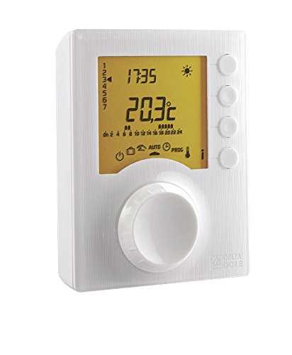Delta Dore 6053005 Tybox 117 Thermostat d'ambiance programmable