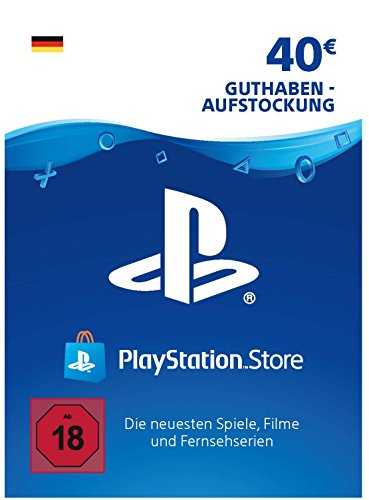 PSN Card-Aufstockung | 40 EUR | deutsches Konto | PSN Download Code
