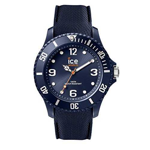 Ice-Watch - Ice Sixty Nine Dark Blue - Montre Bleue Mixte avec Bracelet en Silicone - 007278 (Medium)