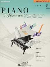 Piano Adventures Theory Book Level 3A-