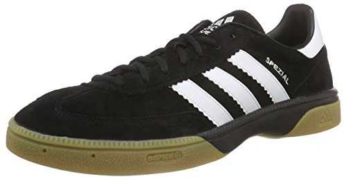 Adidas Performance Hb Spezial, Handball Adulte Mixte - Noir (Black 1/Running White/Black 1) - 42 EU (Taille Fabricant : 8 UK)