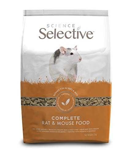 Supreme PetFoods Aliment Complet Rat/Mouse Food pour Petit Animal