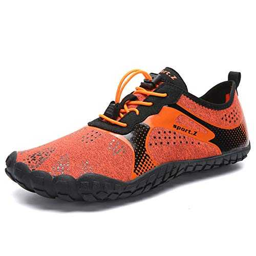 FUSHITON Chaussures de Trail Running Homme Femme Minimalistes Chaussures de Sport Outdoor & Indoor Gym Fitness Randonnée Escalade Marche Barefoot