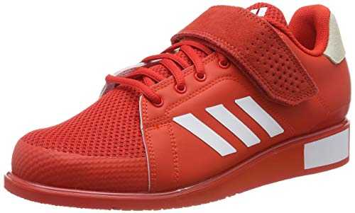 adidas Power Perfect III, Chaussures de Fitness Homme, Rouge FTWR White/Active Red, 44 EU