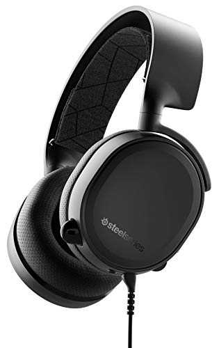 SteelSeries Arctis 3 Console - Stereo Wired Gaming Headset - für PC, PS4, Xbox One, Nintendo Switch, VR und Mobil - Schwarz [Edition 2019]