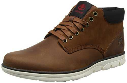 Timberland Bradstreet Leather Sensorflex', Bottes Chukka Homme, Marron (Red Brown FG), 42 EU
