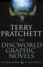"The Discworld Graphic Novels: The Colour of Magic and The Light Fantastic: 25th Anniversary Edition: ""The Colour of Magic"", ""The Light Fantastic"""