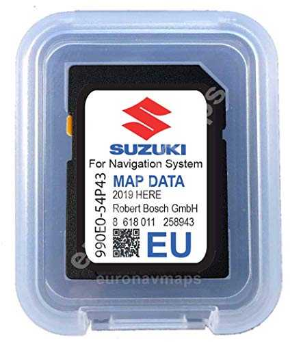 SD Card Suzuki SLDA Europe 2018-990E054P43000