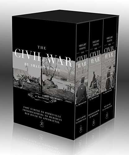 The Civil War Trilogy Box Set: With American Homer: Reflections on Shelby Foote and His Classic The Civil War: A Narrative