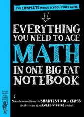 Everything You Need to Ace Math in One Big Fat Notebook: The Complete Middle School Study Guide (Big Fat Notebooks) (English Edition)