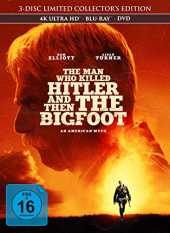 The Man Who Killed Hitler and Then The Bigfoot - 3-Disc Limited Collector's Edition im Mediabook (4K Ultra HD) (  Blu-ray 2D) (  DVD)
