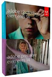 Adobe Photoshop & Premiere Elements 14 - Utilidades generales (Completo, Microsoft Windows 7, 8 Mac OS X v10.8 , ENG)