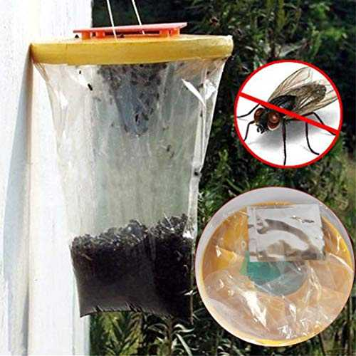 Gaddrt Red drosophile Mouche piège Top Catcher The Ultimate Fly Catcher Insecte Bug Killer
