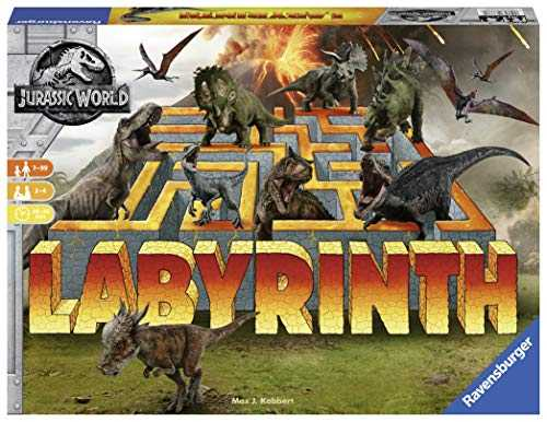 Ravensburger - 26004 - Labyrinth Jurassic World - Jeu de reflexion