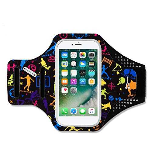 "SimpleMfD 5.5""Lycra Mobile Phone Arm Belt Waterproof Arm Bag for Men and Women Running Accessory"