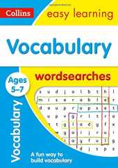 Vocabulary Word Searches Ages 5-7: KS1 English Home Learning and School Resources from the Publisher of Revision Practice Guides, Workbooks, and Activities.