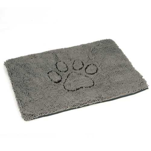 Tapis Dirty Dog Doormat 'PAW' 88x68 cm gris