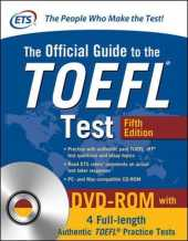 Official Guide to the TOEFL-Test with DVD-ROM