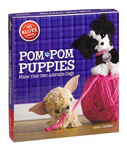 Pom Pom Puppies: Make Your Own Adorable Dogs [With Felt, Yarn, Bead Eyes, Styling Comb, Mini POM-Poms and Glue] (Klutz)