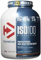 Dymatize ISO 100 Gourmet Chocolate 2,2kg - Whey Protein Hydrolysat   Isolat Pulver