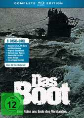Das Boot - Complete Edition (  Bonus-BD) (  Soundtrack CD) (Hörbuch) [Blu-ray]