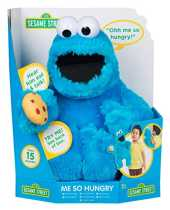 Sesame Street Talking Me Hungry Cookie Monster Suave muñeco de Peluche de Juguete