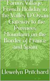 Laruns Village, French Holiday in the Valley D´Ossau - Gateway to the Pyrenees Mountains on the Border of France and Spain (The Illustrated Diaries of Llewelyn Pritchard MA Book 8) (English Edition)